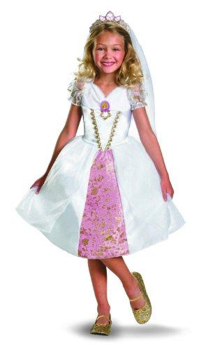 Disguise Disney Tangled Rapunzel Brautkleid Kleinkind Kost-m 3T - 4T
