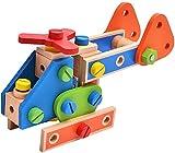 XIAOGING 1 Set 70pcs Bloques Huecos de Madera de construcción Juguetes de Colores Toy Blocks Juguetes educativos for los niños Niños Niños