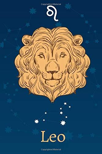 Leo: Zodiac Astrology Design Journal 6x9 (Astrology Notebook & Zodiac Gifts)