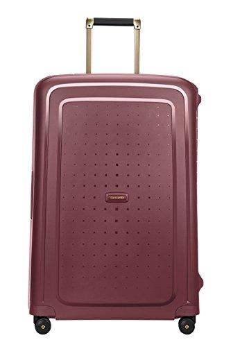 SAMSONITE S'Cure DLX Spinner 75, 4.5 KG Koffer, 75 cm, 102 Liter, Burgundy/Gold Deluscious