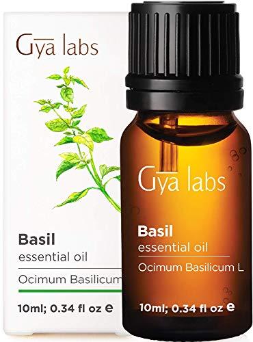 Olio essenziale di basilico - Una pulizia rivitalizzante per capelli più sani e attenzione rinnovata (10 ml) - Olio di basilico di grado terapeutico puro al 100%