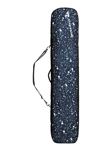 Quiksilver Volcano-Maleta De Viaje Snowboard, Hombre, True Black woolflakes, 1Sz