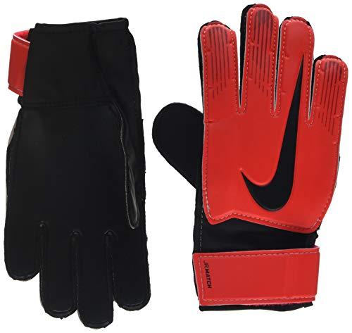 Nike Kinder NK GK MATCH JR-FA18 Soccer Gloves, university red/Black/Metallic, 4