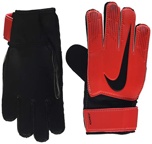 Nike Kinder NK GK MATCH JR-FA18 Soccer Gloves, university red/Black/Metallic, 6