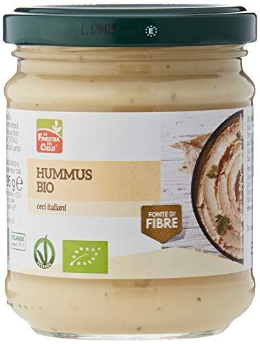 La Finestra Sul Cielo Hummus Bio - 200 gr (Confezione da 6 pezzi)