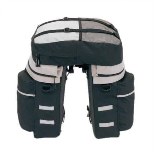 Juego de maletas portaequipajes para bicicleta 3 teilig incluye funda para la lluvia