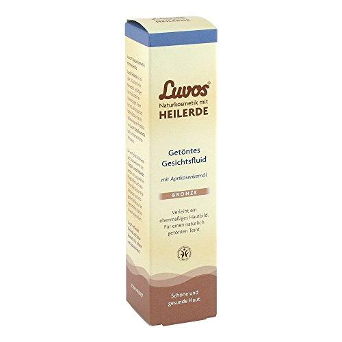 Luvos Heilerde Getöntes Gesichtsfluid BRONZE, für einen ebenmäßig, strahlenden Teint, 1 X 50 ml,...