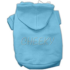 Mirage Pet Products 18-Inch Cheeky Hoodies, XX-Large, Baby Blue