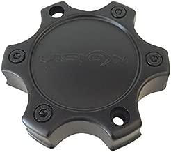 Vision Wheels C326MB-6CV C326MB-6C Matte Black Center Cap 6 Lug