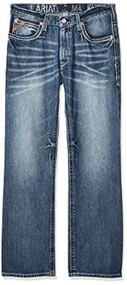 Ariat Men's M4 Low Rise Jean, Scoundrel, 30x32