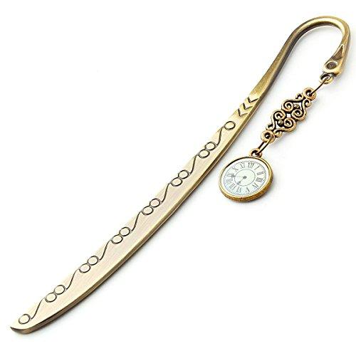 GSPStyle Retro Vintage Bronze Plated Bookmark Open Letter Knife - Roman...