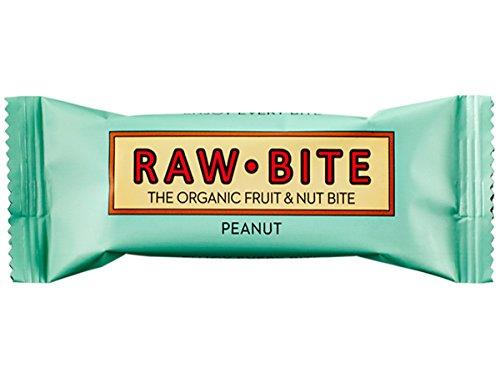 Raw Bite Barrita ökologische Energieversorgung Erdnuss 12x 50g