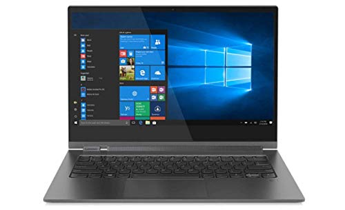 2020 Lenovo Yoga C930 2-in-1 Laptop, 13.9' 4K UHD Touch-Screen Intel i7, 16GB DDR4, 1TB SSD, 2X Thunderbolt 3, Dolby Atmos Audio, HD Webcam, Active Pen, Fingerprint Reader, Iron Grey (Renewed)