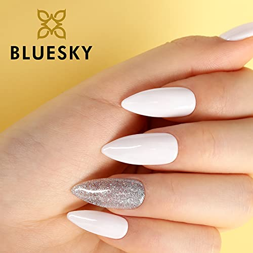 Bluesky 80526Esmaltes de uñas en gel, Blanco (Studio White), 10 ml