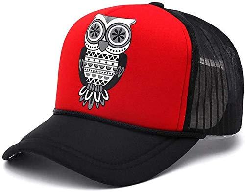 Jiushilun Sombreros Gorra de béisbol Moda para Adultos Unisex Clásico Trucker Owl...