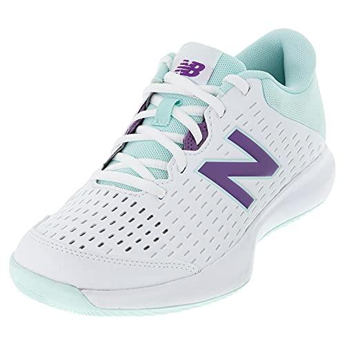 New Balance 696 V4 Hard Court - Zapatillas de Tenis para Mujer, Color, Talla 35 EU Weit