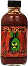 Da Bomb - Ghost Pepper - Original Hot Sauce - 22,800 Scovilles - 4oz Bottles Made in USA with Habanero & Jolokia Peppers- Non-GMO, Gluten Free, Sugar Free, Keto - Pack of 1