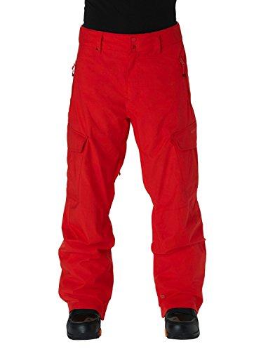 Quiksilver Herren Snowboard Hose Porter Ins Pants, Fiery Red, S