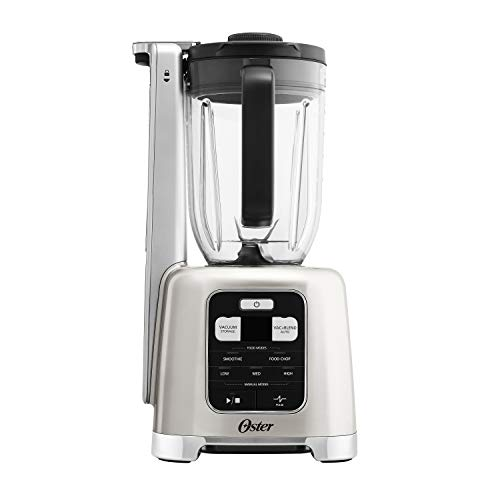 Oster BLSTAB-CB0-000 Blender with FoodSaver Vacuum Sealing System, Brushed Nickel