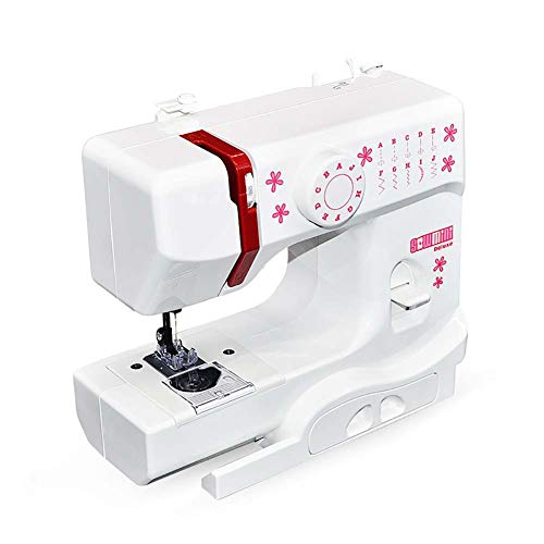 BTSSA Multifuncional Maquina De Coser,Eléctrica Sewing Machine,2 Velocidades Máquina De Coser,Sewing Machine para Ropa, Sábanas,Fundas De Almohadas