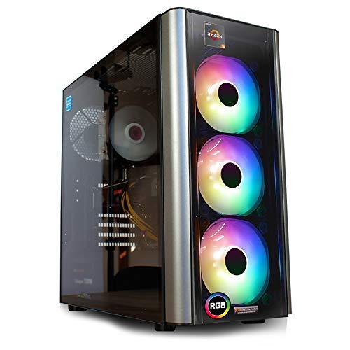 dcl24.de [11883] Aufrüst Gaming PC Level 20 AMD Ryzen 5-3400G 4x3.7 GHz - 16GB DDR4, AMD Vega 11 2GB Spiele Computer Rechner