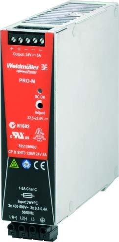 Weidmuller CP-m-snt3 - Fuente alimentación CP-m-snt3 120w 24v 5a