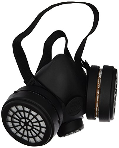 Ferko Safety Equipment AR-142/40F Mascarilla con 2 filtros A1, Negro