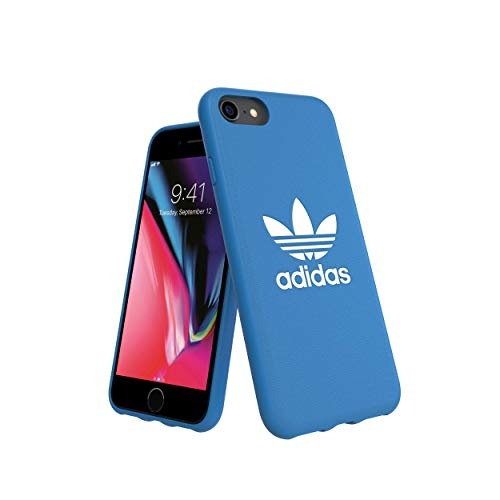 adidas Originals Basics - Carcasa para iPhone 8, 7, 6 y 6S, Color Azul