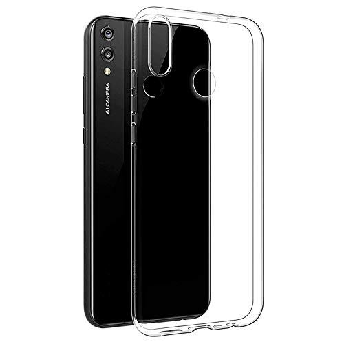 TBOC Funda de Gel TPU Transparente para Huawei Y7 (2019) [6.26 Pulgadas] Carcasa de Silicona Ultrafina Flexible para Teléfono Móvil [No es Compatible con el Huawei Y7 (2018)]
