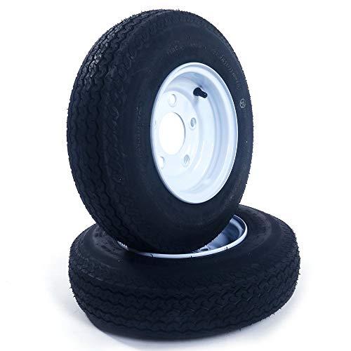 2 Tralier Tires & Rims 4.80-8 480-8 4.80 X 8