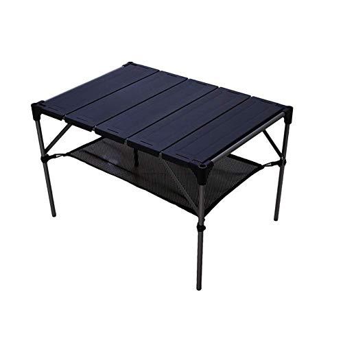 NBVCX Salud Cuidado Personal alAire Libre Mesa Plegable portátil Mesa de Camping de Aluminio Mesa de Picnic de Barbacoa