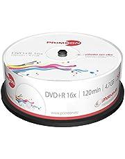 MediaCom IT-Distribution GmbH Primeon 2761225 DVD + R Media (Velocidad De 16X, 4,7 GB, 120 Min