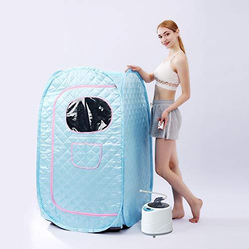 4.2L 2000W Portable Sauna 110V - 220V Steam Generator For Sauna SPA larger Tent Lose Weight Detox Therapy Sauna Cabin (Color : AEJ 0002B)