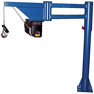 Vestil Low-Profile DC Powered Lift Van & Truck Jib Crane VAN-J-DC 400 Lb. Cap.