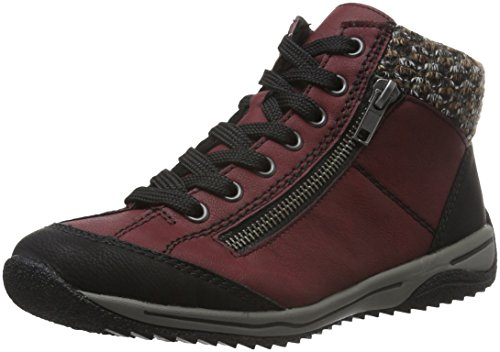 Rieker Dames L5223 Hi-Top Sneakers