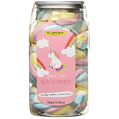 the happy news unicorn tails mallows, 200 g The Happy News Unicorn Tails Mallows, 200 g 41r6w5MdSRL