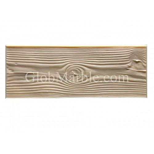 GlobMarble Wood Grain Texture Concrete Stamp Mat SM 5000/F. Concrete Flex Wood Mat