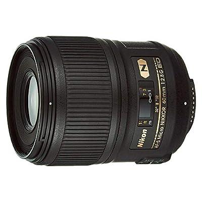 Nikon 60mm f/2.8G ED Auto Focus-S Micro-Nikkor Lens for Nikon DSLR Cameras - Fixed by Nikon