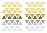 dekodino Sticker mural pastel triangles aux couleurs de l'été 70 pièces jeunes