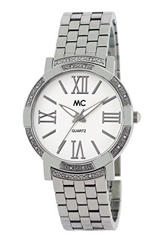MC Timetrend Damen Analog Quarz Uhr mit Messing Armband 51510