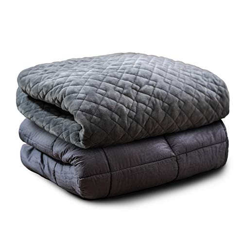 MIRAN Weighted Blanket for Adults | Premium Washable Construction Heavy Comforter with Removable...