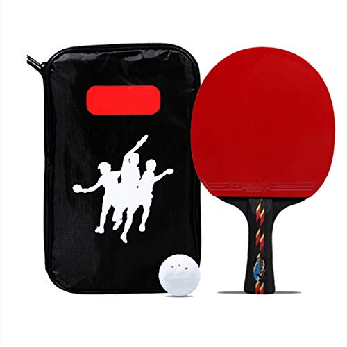 Best Bargain JYL Ping Pong Paddle and Balls, Professional Table Tennis Racket Set Including 1 Storag...