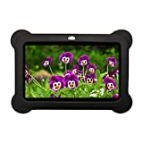 7inch Kids Tablet Google Android 4.4 Quad Core Multi-Touch Screen 4GB Hard Drive Pre-Installed Games and Apps, Google Play Store, Kids Desktop etc (7DRK-Black-4GB)