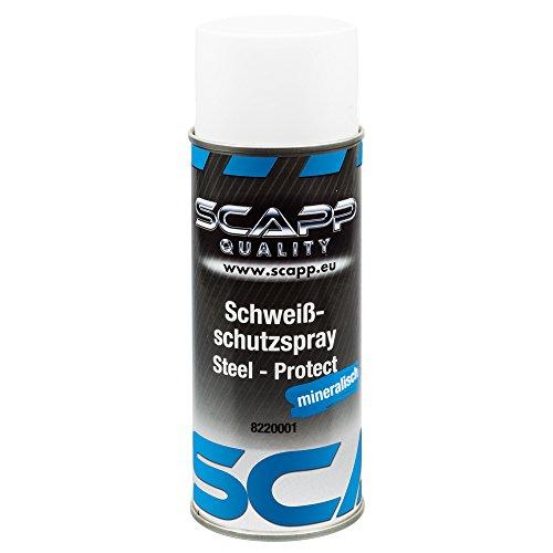 SCAPP Equipment Schweißschutzspray - Steel - Protect (mineralisch) / 400ml Spraydose
