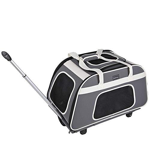 "Eono. Essentials Medium Pet Carrier (26"" x 14"" x 14"" / 66 x 35.5 x 35.5cm)"