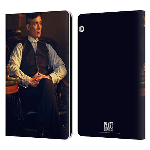 Officiële Peaky Blinders Thomas Shelby Kantoor Personages Lederen Book Portemonnee Cover Compatibel voor Huawei MediaPad T3 10