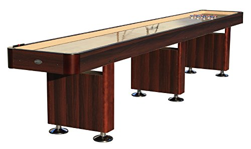 Purchase The Standard 16 Foot Shuffleboard Table in Espresso by Berner Billiards