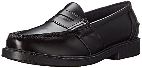 Nunn Bush Men's Lincoln Classic Penny Loafer Slip-On, Black, 8.5