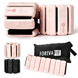 Foreva Fit Ankle and Wrist Weights Pair - 1.1 lbs Each, Adjustable Size, Wrist and Ankle Weights for...