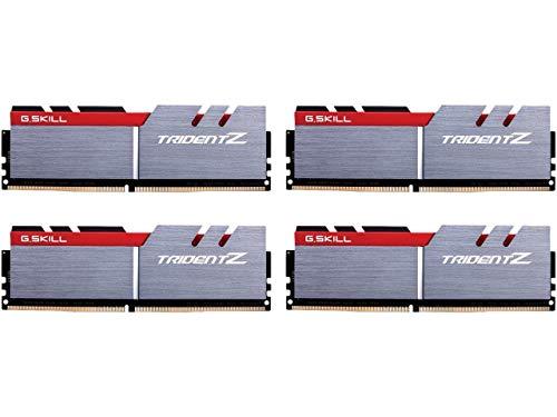 G.SKILL 64GB (4 x 16GB) TridentZ Series DDR4 3200MHz PC4-25600 Desktop Memory Model F4-3200C14Q-64GTZ